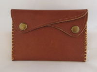 PURSE - DARK TAN